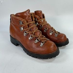 Danner Vintage Brown Leather Hiking Boots
